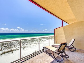 Spacious Gulf Front Townhome with amazing gulf views at Regency Cabanas!