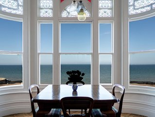 Bellevue by the Bay - Luxury Beachfront Period Home with Panoramic Sea Views