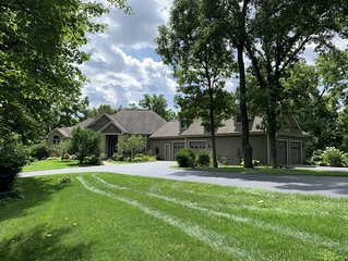 Resort Core ~ Private Secluded Custom Built Home ~ 5 BD/5.5 BA ~ Hot Tub