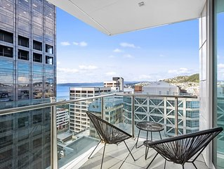 Stay in the City - Wellington View - Executive 2 bedroom, 2 bathroom apartment