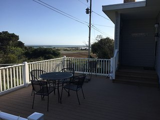 Fantastic nautical home with Rogue River and Pacific Ocean view and beach access