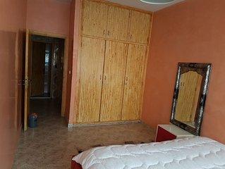 Appartement ensoleillé Agdal (à deux pas de la station de tram avenue de France)