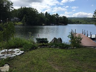 Family-Friendly 5 BR Waterfront on Lake Waukewan in Meredith