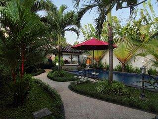 2 Bedroom and pool Villa in Kuta Bali