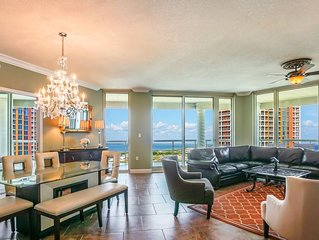 P1-1307 -Wonderful 3 Bedroom Elite Rated Skyhome with Great Gulf View