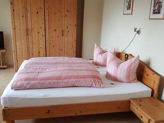 Ruhige Ferienwohnung (48qm) mit Hochterrasse