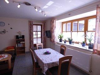Barrierefreie Wohnung (55 qm) im Erdgeschoss für 1-2 Personen