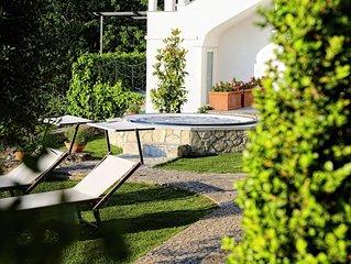 Villa Claudia - Incantevole villa con vasca idromassaggio riscaldata Jacuzzi