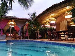 Safari Village Saly - villa bord de mer avec piscine privée