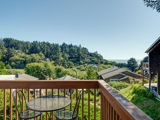 Ocean View! Private apartment, allergen free, less than 2 blocks to the beach.