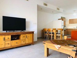Family-Friendly Apartment in Zichron Yaakov