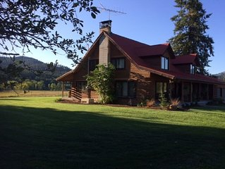 Winter Getaway on 7 private acres Close to Wedding venues & Snow activities