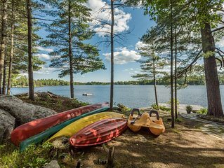 Kahshe Lake~Island cottage with all the bells & whistles!