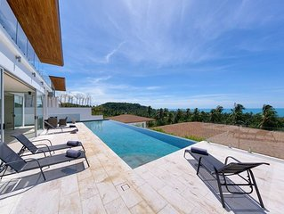 6 Bed Luxury Seaview Villa Lilac