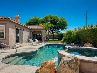 Private Grand Scale Gorgeous Home, Pool & Spa Mountain Views, Gated Community