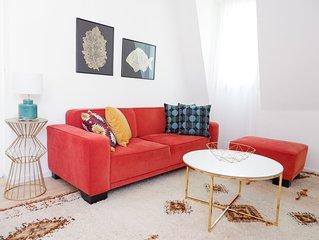 Apartment 18 - Ferienwohnung, 70 qm, 2 Schlafzimmer, max. 7 Personen