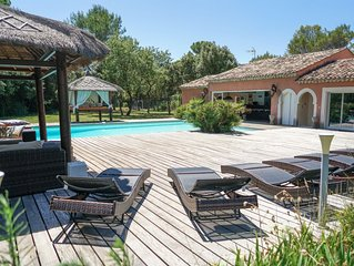 Villa au coeur de la provence verte