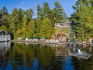 Breakwater ~ Exclusive Beaumaris lakehouse on Lake Muskoka