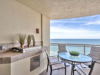 Fabulous direct ocean front with private balcony & steps to the beach