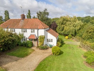 Enjoy the peace and tranquility of this charming cottage