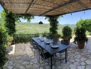 Villa a Gaiole In Chianti con 3 camere da letto e 6 posti letto
