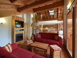 Wifi, pied des pistes de ski, remise en forme, piscine, terrasse, balcon, télévi