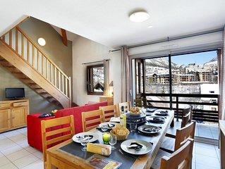 Wifi, à 50m des pistes de ski, remise en forme, terrasse, balcon, télévision, ca