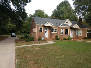 Completely renovated single family home with new furnishings.