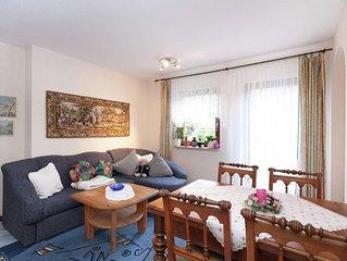 Ferienwohnung Waldblick mit 65qm, 1 Schlafzimmer, für maximal 3 Personen