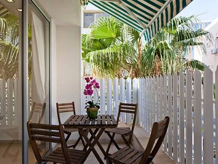 Charming 2BR on Frishman, 1min to Beach
