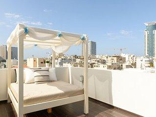 Penthouse 2 Floors, 3 Terraces! + PARKING!