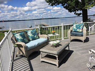 Wonderful Beachfront Home on Owasco Lake