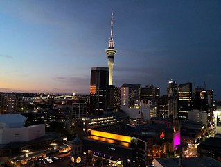 Apartment with Brilliant views in Auckland CBD