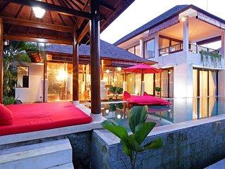 A beautiful, serene premises around Tanah Lot.