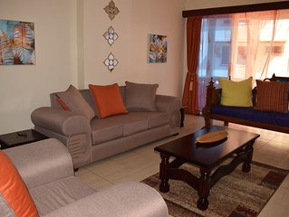 Villa A1 at Royal Apartments in Nyali is in serene location close to shopping ma