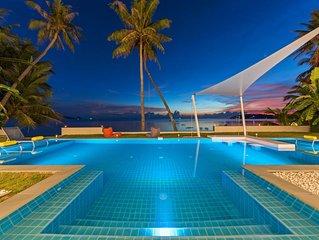 Paradis Blanc - Luxury Beachfront Villa