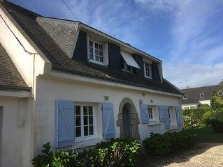 Maison St Philibert 11 personnes a 400 m des plages, proche Carnac, la Trinite