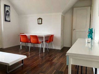 Bright & Big Attic Apartment in Luzern city!