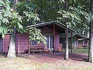 Quaint Cottage on a small private lake by Ricketts Glen - COTTAGE 1