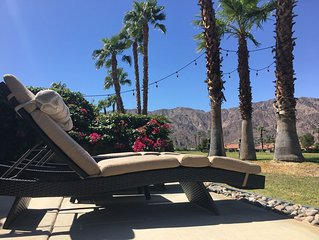 Golf and Mountain view home in La Quinta