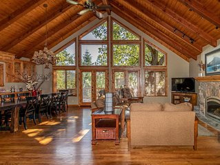 Gorgeous Lake View Home with Boat Slip, Chef's Kitchen, and Huge Spa Tub