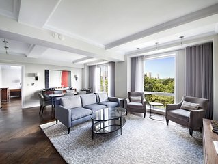 $8 Million Central Park 2BR Residence with Hotel Amenities