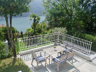 NUOVA APERTURA Elegante Appartamento in Villa con giardino e vista lago di Co