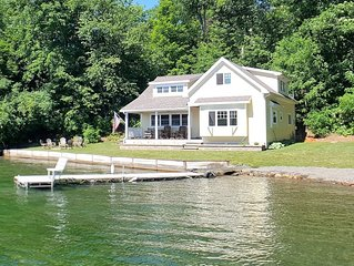 Crane Cove  Enjoy 125' of Gorgeous Waterfront, Large Level Yard, Private Setting