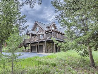 Stunning Log Home, Nestled in Two Wooded Acres Near Winter Park