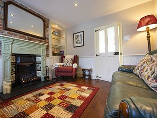 Grade II Listed Town House, cosy and welcoming,  close to The High Street