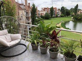 Hermoso departamento en Tigre frente a la laguna