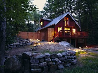 3BR Chalet with Private Beach and Dock! Autumn Colors and Ski Season!