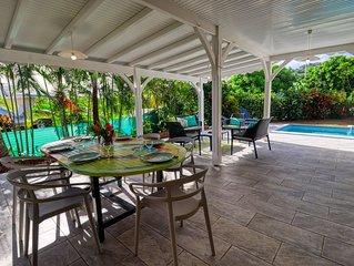 Villa avec piscine proche de la plage (MQSL17)