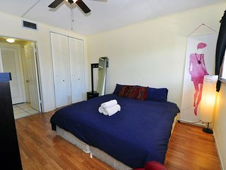 2 Bedrooms Clean Wifi Near Beaches